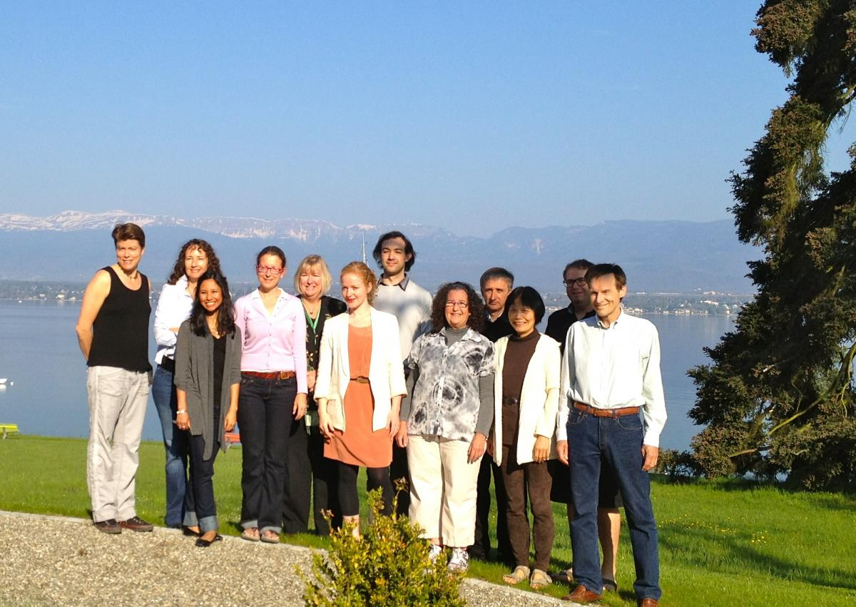 Lehigh University Sociology and Anthropology - Prof. Lasker and fellows at the Brocher Foundation