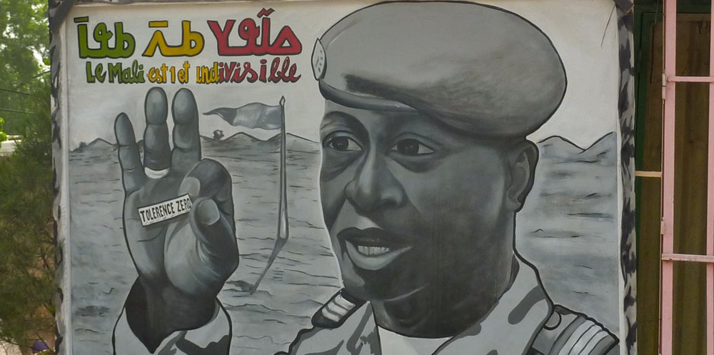 Lehigh University Sociology and Anthropology - Mural in Mali 2