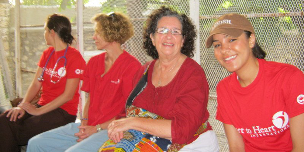 Lehigh University Sociology and Anthropology - Ana Arteaga '12 and Prof. Judy Lasker during research in Haiti, 2012
