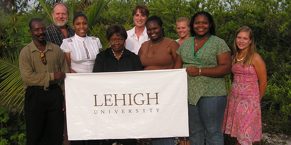 Lehigh University Sociology and Anthropology - Prof. John Gatewood's research team in Turks & Caicos Islands