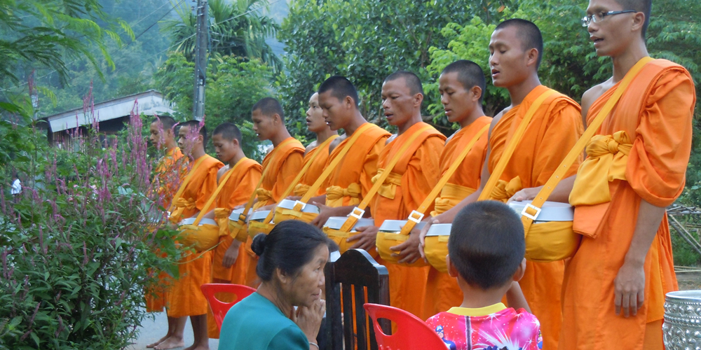 Lehigh University Sociology and Anthropology - Monks in Thailand