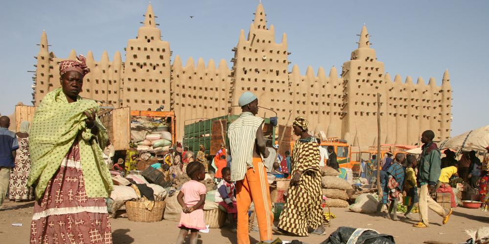 Lehigh University Sociology and Anthropology - Mosque in Djenné, Mali